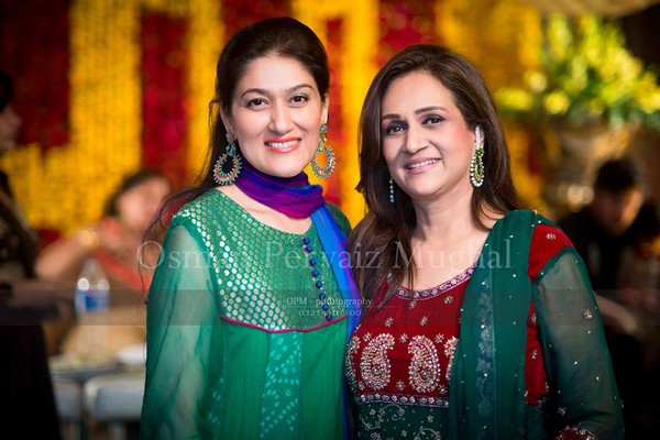 Asma Abbas Daughter Zara Abbas Wedding Photos 7