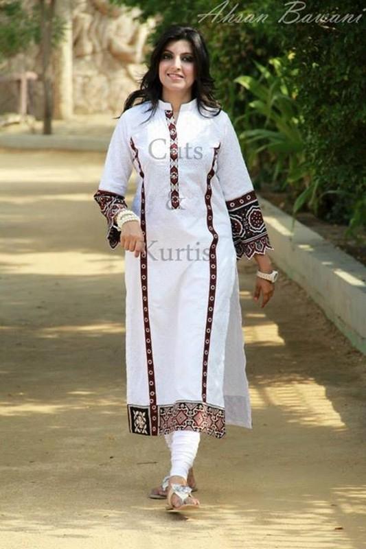 Latest Ajrak Dresses Fashion For Girls 2014 3 Life N Fashion