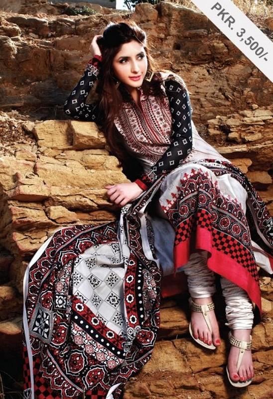 Latest Ajrak Dresses Fashion For Girls 2014 Life N Fashion