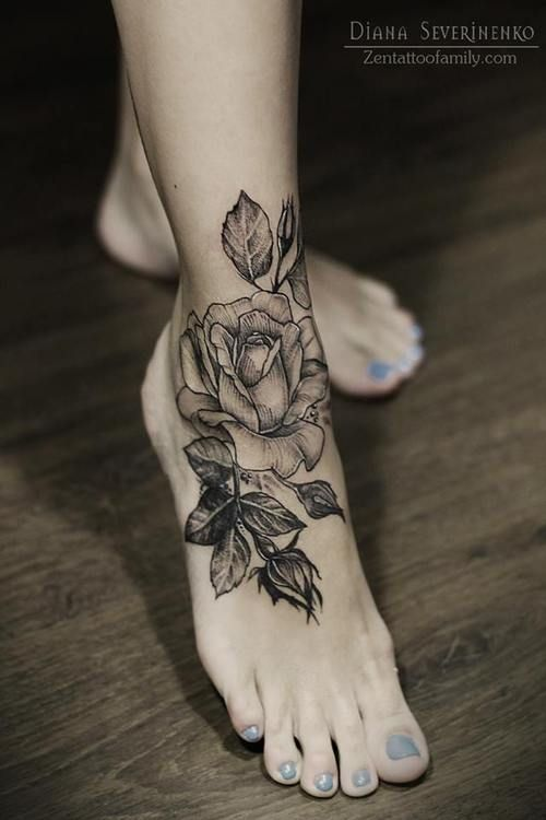 ankle tattoos designs 2014 for women and girls life n fashion. Black Bedroom Furniture Sets. Home Design Ideas