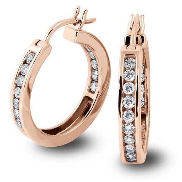 Latest Designs Of Diamond Earrings For Girls 2014 1 Life N Fashion