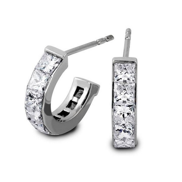 Latest Designs Diamond Earrings Girls Life
