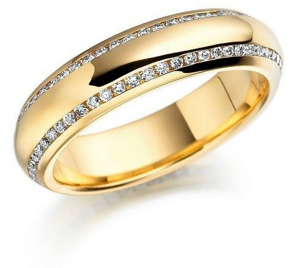 Latest Gold Ring Designs For Women 2014 7
