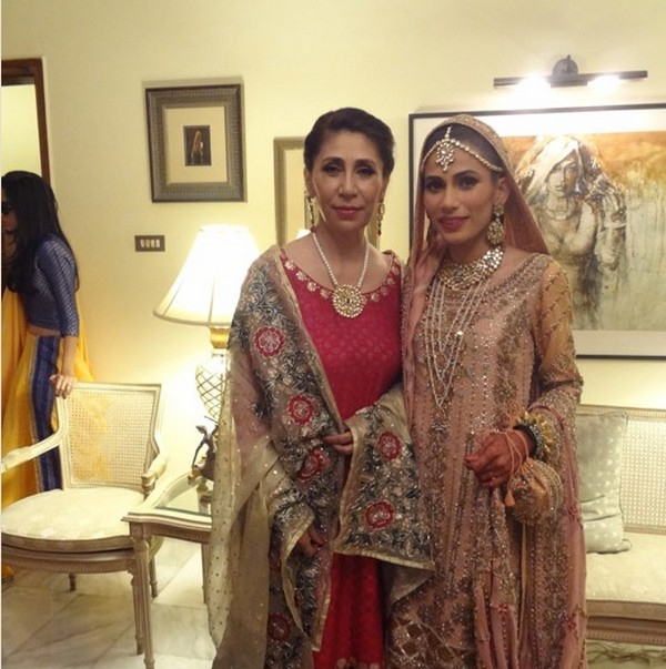 Stylist Nida Khan Wedding Photos 5