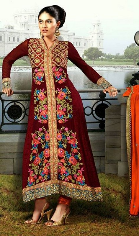 Latest Trend Of Indian Dresses For Girls 2014 - Life n Fashion