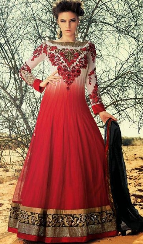 Latest Trend Of Indian Dresses For Girls 2014 3 Life N