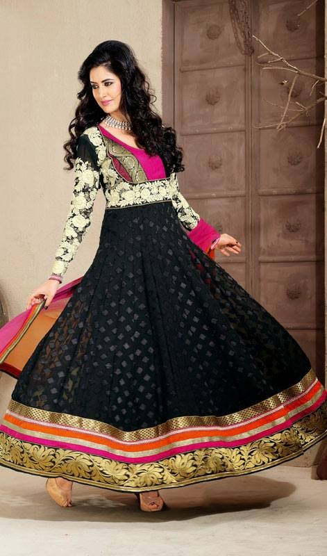 Latest Trend Of Indian Dresses For Girls 2014 6 Life N