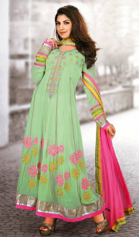 Latest Trend Of Indian Dresses For Girls 2014 9 Life N