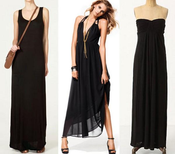34c8c6b21fc9 Latest Black Maxi Dress Trend For Summer 2014 - Life n Fashion