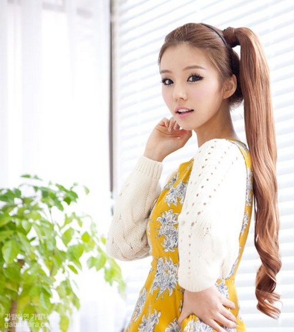 Latest and Trendy Kawaii Hairstyles 2014 For Girls 11 - Life n Fashion