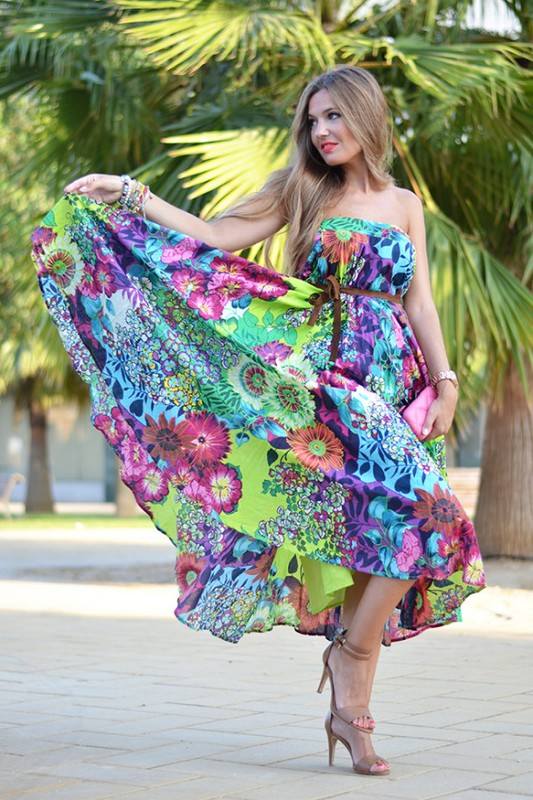 Long Maxi Dresses For Casual Wear 2014 Life N Fashion