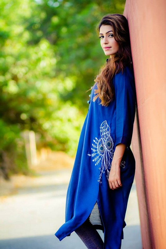 Stylish Long Kurta Trend 2014 For Girls 3 Life N Fashion