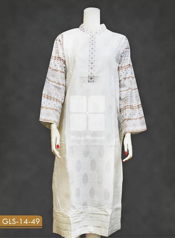 Stylish Long Kurta Trend 2014 For Girls 4 Life N Fashion