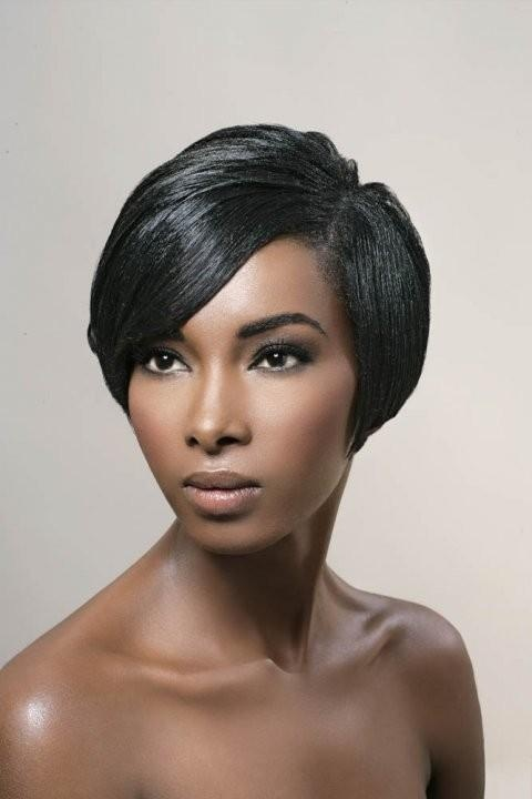African American Short Hairstyles 2014 For Women 008