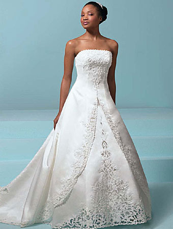 African American Wedding Dresses For Brides 0011 - Life n Fashion