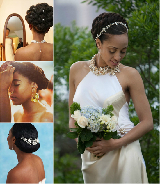 African American Wedding Hairstyles 009