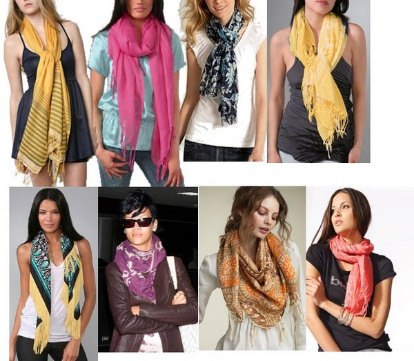 Different styles to wear scarf this summer life n fashion Different fashion style groups
