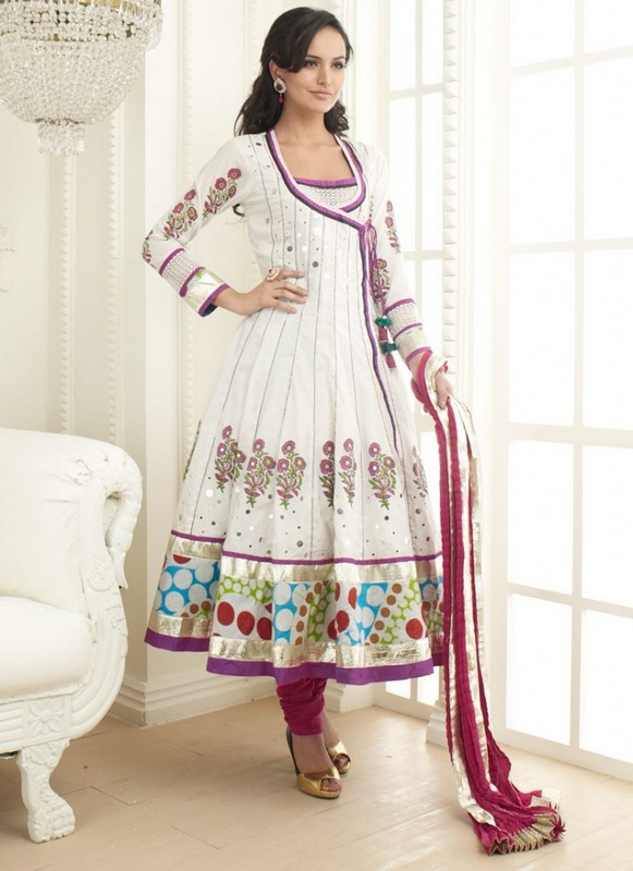 Latest Long Frock Fashion Trend 2014 For Women 3 Life N