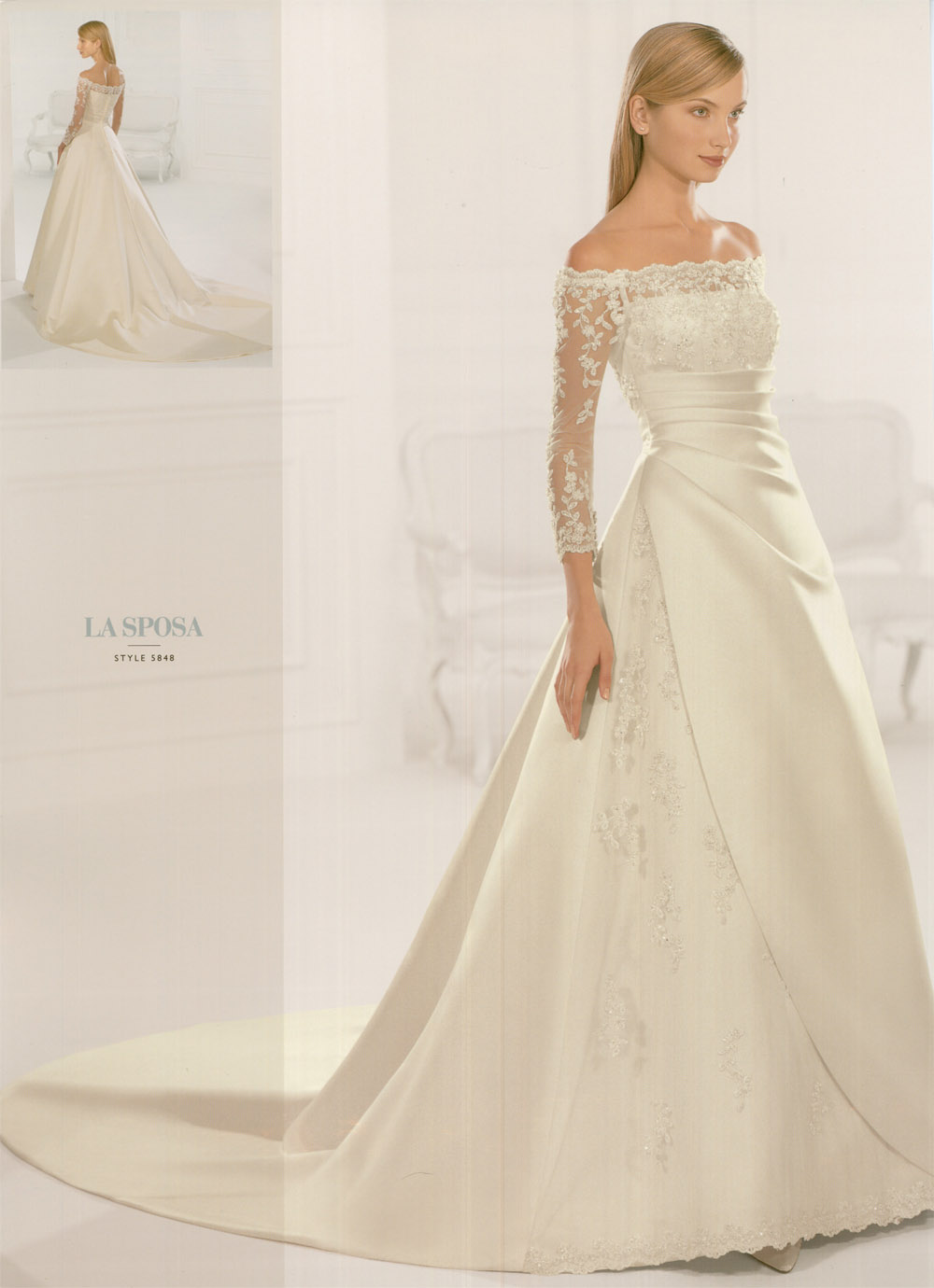Basic And Main Types Of Wedding Dresses With Sleeves 0011