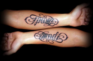 Beautiful And Unique Ambigram Tattoos Designs 07
