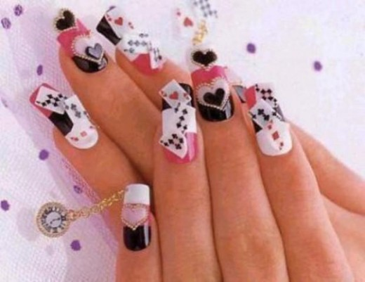 Latest eid nail art designs 2014 for women life n fashion prinsesfo Images