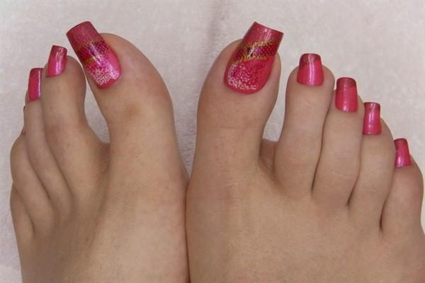 Latest Toe Nail Art Designs For Eid 2014 12 Life N Fashion