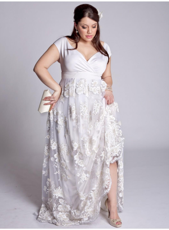 Trendy Plus Size Dresses For Beach Weddings 002 Life N Fashion