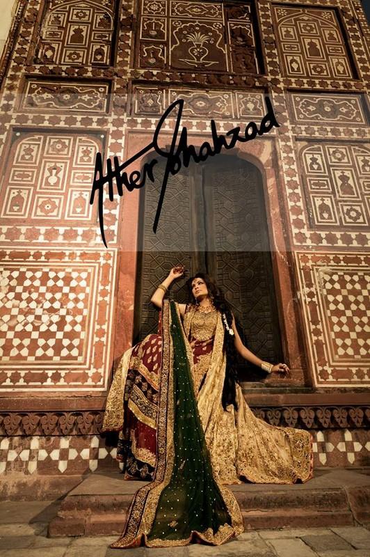 Aisha Imran Latest Bridal Wear Collection 2014-15 7