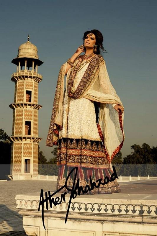 Aisha Imran Latest Bridal Wear Collection 2014-15 8