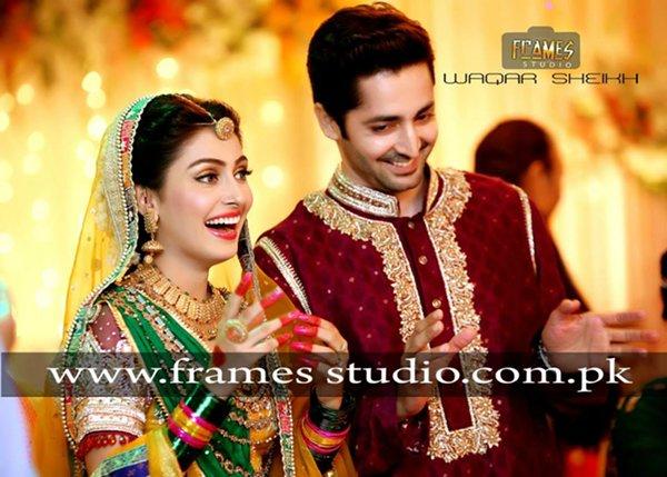 Mehndi Function Hair Style : Ayeza khan mehndi function pictures 013 life n fashion