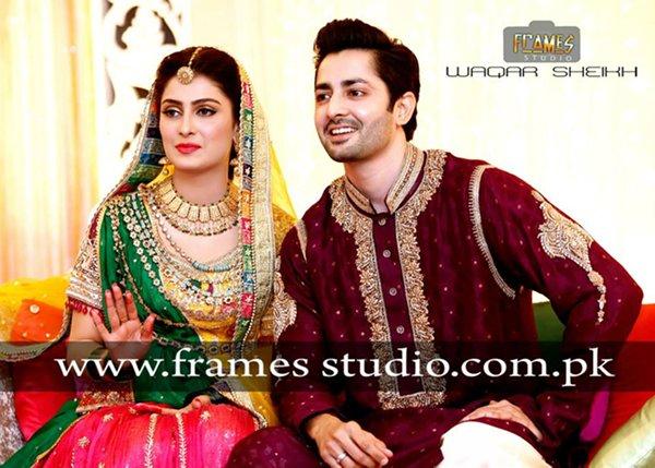 Ayeza Khan Mehndi Function Pictures 014 Life N Fashion