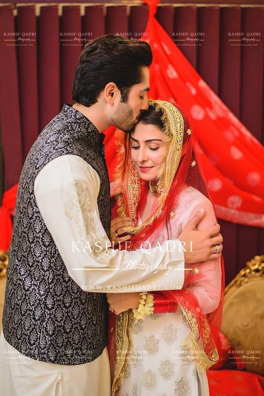 Ayeza Khan and Danish Taimoor Nikah Pictures 2