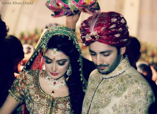 Ayeza Khan And Danish Taimoor Wedding Photos 4 Life N Fashion