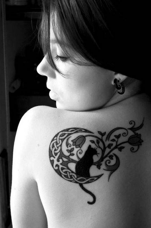 Best Moon Tattoos Designs For Women 2014 12