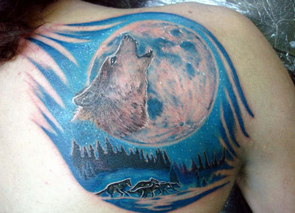 Best Moon Tattoos Designs For Women 2014 6