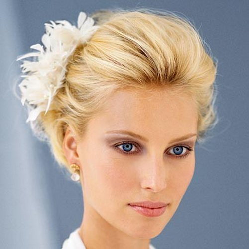 Blonde Wedding Hairstyles For Short Hair Life N Fashion
