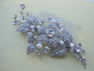 Elegant Wedding Hair Combs 2014 For Brides 003