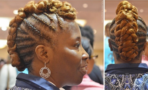 Latest Braided Hairstyles For Black Women 2014 6