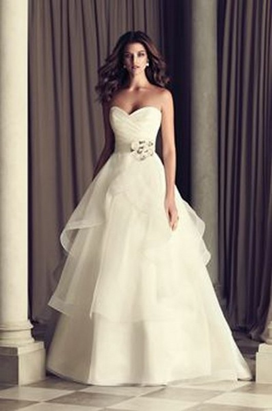 Latest Italian Wedding Dresses Ideas For Brides 2014 8 Life N Fashion