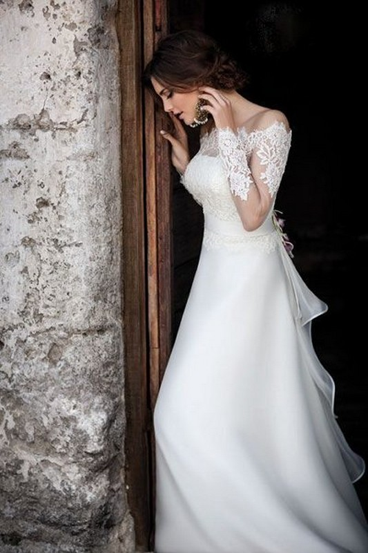 Latest Italian Wedding Dresses Ideas For Brides 2014 9