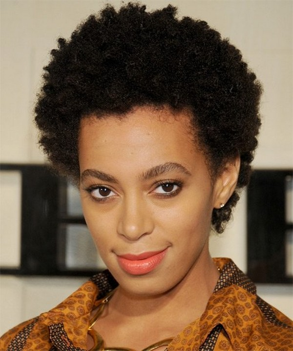 Latest Short Afro Hairstyles For Girls 2014 9