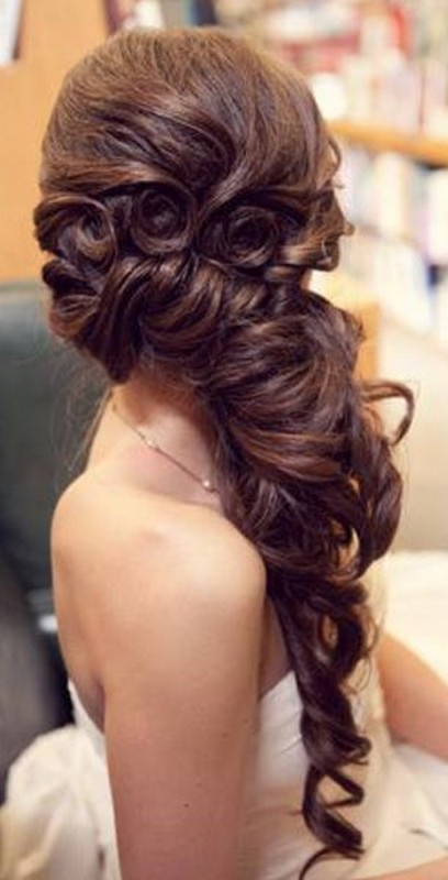 Latest and New Party Hairstyles For Girls 2014 8 - Life n Fashion