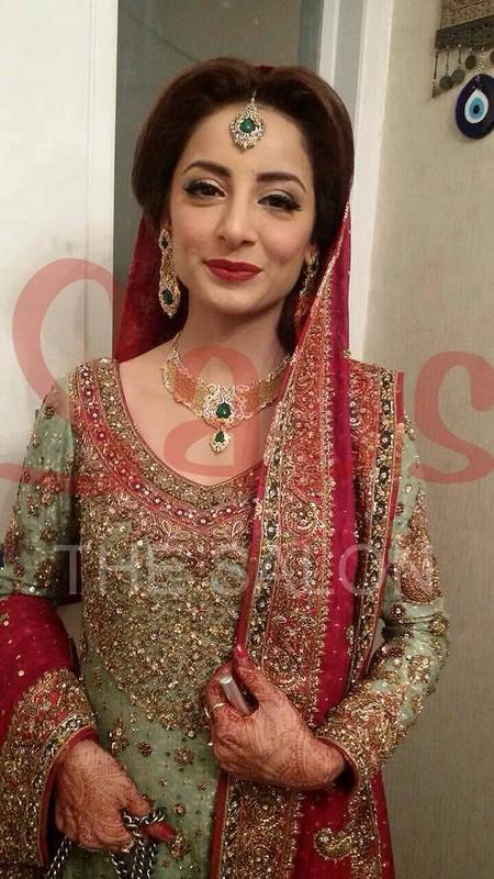 Pakistani Actress Sarwat Gillani Wedding Pictures