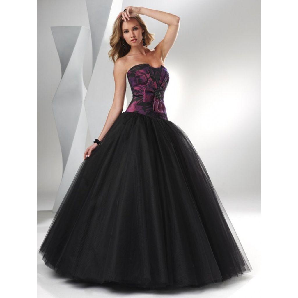 Trends Of Black Wedding Dresses 003