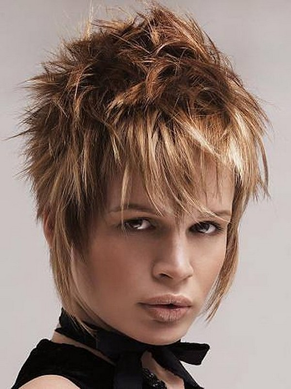 Trends Of Short Spiky Hairstyles For Girls 2014 5 Life N