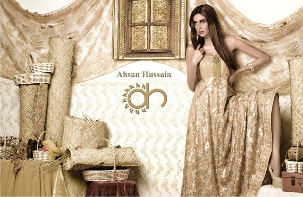 Ahsan Hussain Gold Line Collection 2014 For Women 3