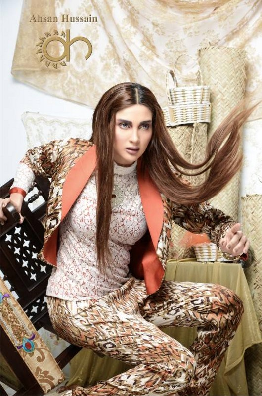 Ahsan Hussain Gold Line Collection 2014 For Women 5