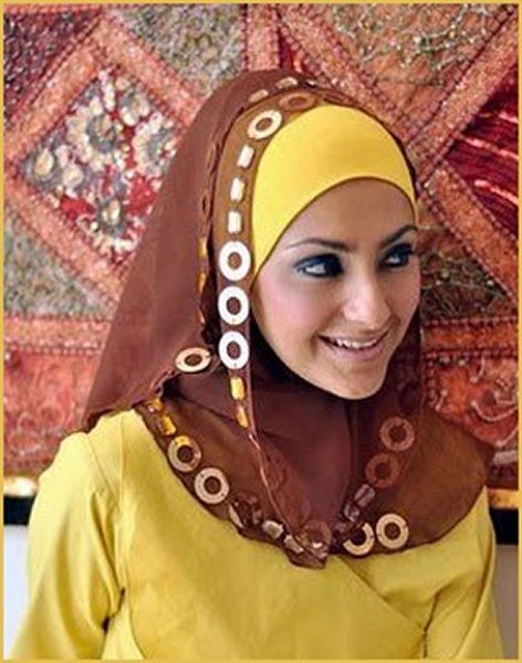 Fashion Of Headscarves 2014 For Women 006