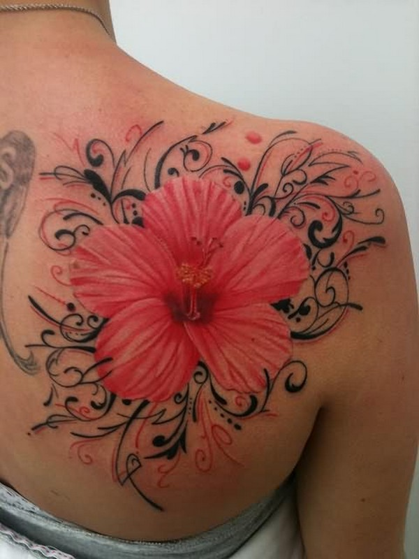Latest Flower Tattoos Designs 2014 For Women 7