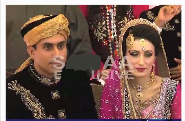 Pakistani Cricketer Nasir Jamshed Wedding Pictures 2